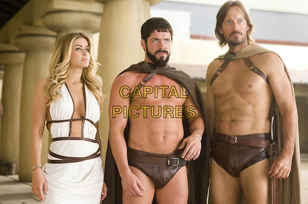 CARMEN ELECTRA, SEAN MAGUIRE & KEVIN SORBO.in Meet the Spartans.*Filmstill - Editorial Use Only*.CAP/FB.Supplied by Capital Pictures.