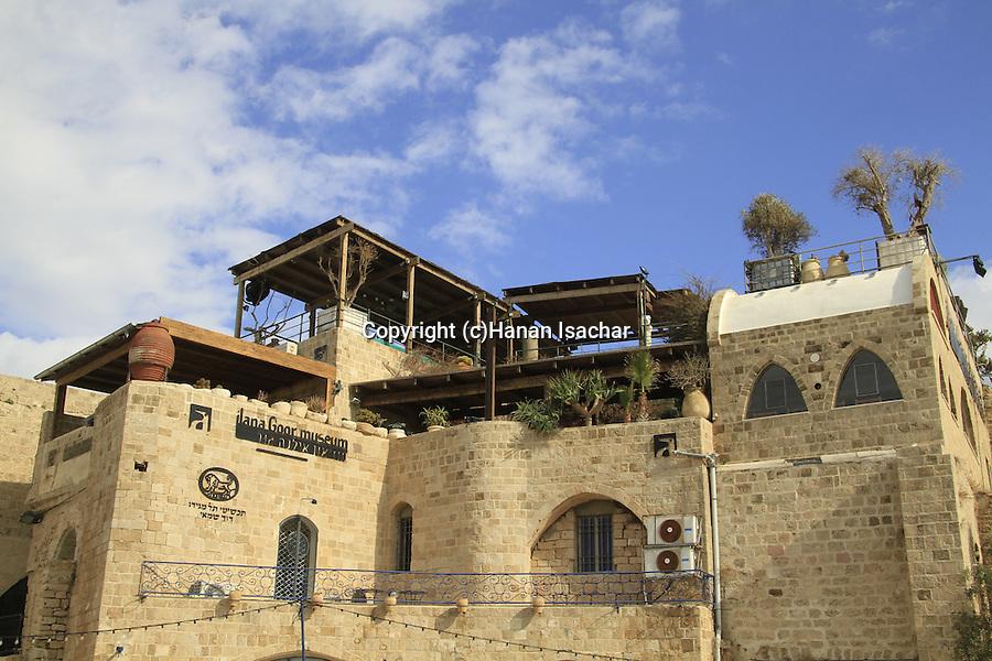 Israel, Tel Aviv-Yafo, Ilana Goor museum in Old Jaffa