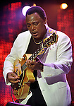George Benson plays at the Enlighten concert, Canberra, Friday 11th March 2010. (Image/Mark Graham)