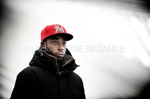 Belgian footballer Réginal Goreux (Belgium, 20/12/2012)