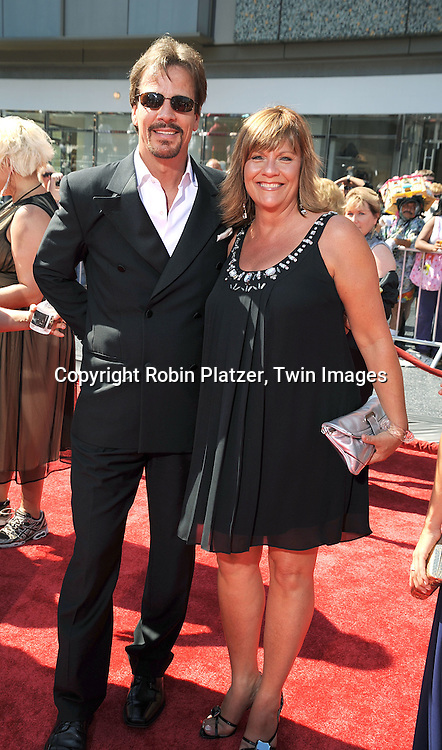 Bradley Cole and Kim Zimmer..at The 35th Annual Daytime Entertainment Emmy Awards at The Kodak Theatre on June 20, 2008 in Hollywood California.....Robin Platzer, Twin Images