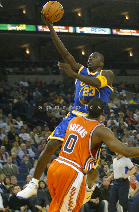 Jason Richardson, of the Golden State Warriors in action against the Washington Wizards...Washington wins 103-101..Rob Holts / SportPics