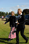 Stamford, Lincolnshire, United Kingdom, 8th September 2019, HRH The Countess of Wessex and Lady Louise Windsor arrive at the 2019 Land Rover Burghley Horse Trials, Credit: Jonathan Clarke/JPC Images