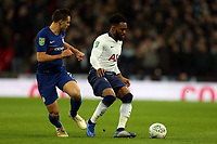 Cesar Azpilicueta of Chelsea and Danny Rose of Tottenham Hotspur during Tottenham Hotspur vs Chelsea, Caraboa Cup Football at Wembley Stadium on 8th January 2019