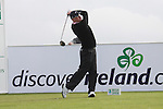 Richard Finch teeing off on the 16th hole during day two of the 3 Irish Open..Pic Fran Caffrey/golffile.ie