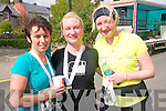 Celebrating their participation in the Jack and Jill 10km event in Kenmare on Satuday. .L-R Mary Murphy (Ardrigole), Betty Cremin (Kilgarvan) and Catherine Foley (Faha Killarney)