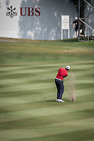The third round of the Hong Kong Open golf tournament in Fanling Golf Club, Hong Kong,  24 Oct., 2015