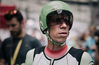 Rigoberto Uran (COL/Cannondale-Drapac) ahead of his TT<br /> <br /> 104th Tour de France 2017<br /> Stage 20 (ITT) - Marseille › Marseille (23km)