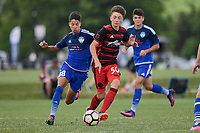 Westfield, IN - June 24, 2017: 2017 Development Academy Summer Showcase at Grand Park.