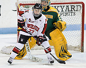 Kendall Coyne (Northeastern - 77), Erica Howe (Clarkson - 27) - The Northeastern University Huskies defeated the visiting Clarkson University Golden Knights 5-2 on Thursday, January 5, 2012, at Matthews Arena in Boston, Massachusetts.