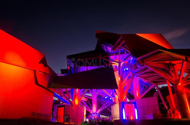 Encendido de luces del Biomuseo 2013.©Aaron Sosa/istmophoto.com