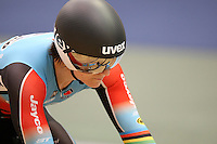 Australia Anna Meares at the 2014 Oceania Track Championships, Sit Zero Fees Velodrome, Invercargill, New Zealand, Friday, November 22, 2013. Photo: Dianne Manson / NINZ
