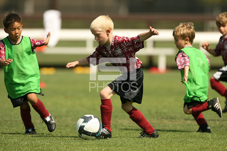 STANFORD, CA - SEPTEMBER 27:  AYSO during Stanford's 2-0 win over New Mexico State on September 27, 2009 at Laird Q. Cagan Stadium in Stanford, California.