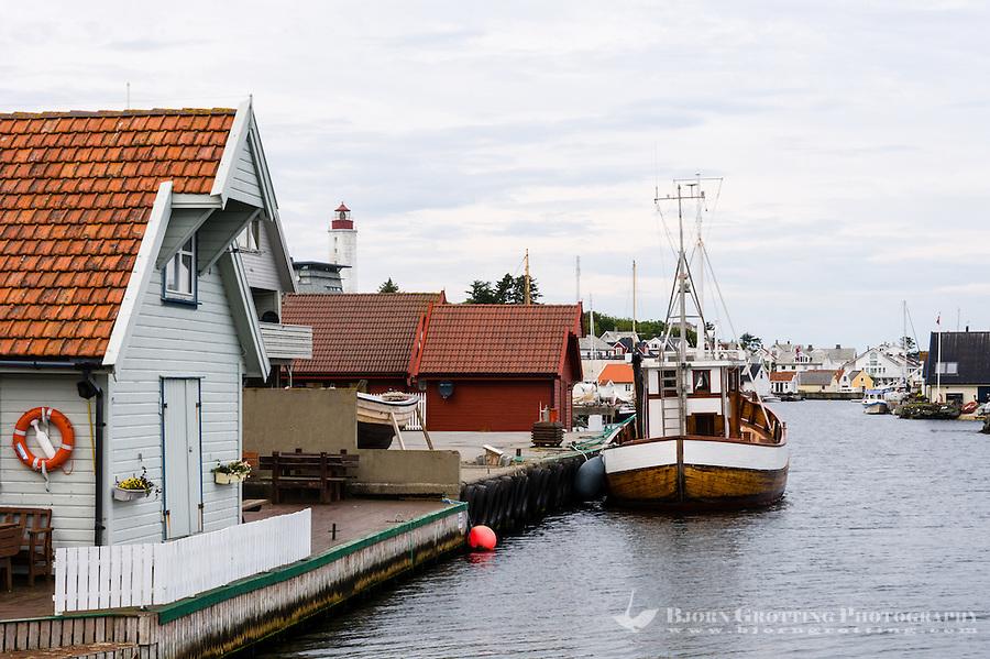 Norway, Rogaland, Kvitsøy. Ydstebøhavn.