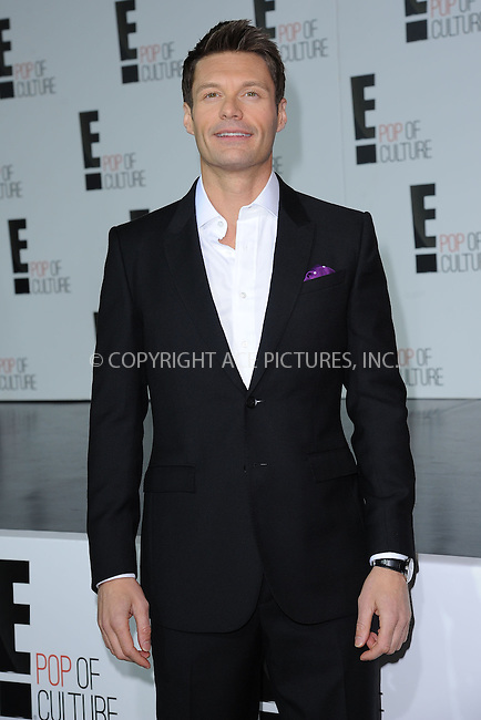 WWW.ACEPIXS.COM . . . . . .April 22, 2013...New York City....Ryan Seacrest attends the E! 2013 Upfront at The Grand Ballroom at Manhattan Center on April 22, 2013in New York City.....Please byline: KRISTIN CALLAHAN - WWW.ACEPIXS.COM.. . . . . . ..Ace Pictures, Inc: ..tel: (212) 243 8787 or (646) 769 0430..e-mail: info@acepixs.com..web: http://www.acepixs.com .
