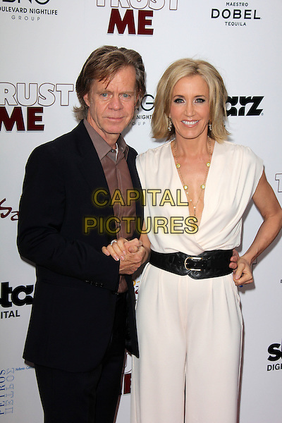 HOLLYWOOD, CA - May 22: William H. Macy, Felicty Huffman at the &quot;Trust Me&quot; Special Screening, Egyptian Theater, Hollywood,  May 22, 2014.  <br /> CAP/MPI/JO<br /> &copy;Janice Ogata/MediaPunch/Capital Pictures