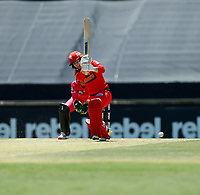 2nd November 2019; Western Australia Cricket Association Ground, Perth, Western Australia, Australia; Womens Big Bash League Cricket, Melbourne Renegades versus Sydney Sixers; Courtney Webb of the Melbourne Renegades plays through midwicket during her innings - Editorial Use