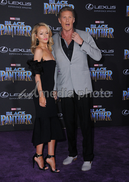 "29 January 2018 - Hollywood, California - David Hasslehoff. Marvel Studios' ""Black Panther"" World Premiere held at Dolby Theater. Photo Credit: Birdie Thompson/AdMedia"