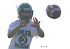 Anthony Burriesci, Farmingdale quarterback, takes a snap during varsity football practice at Farmingdale High School on Tuesday, Aug. 16, 2016.