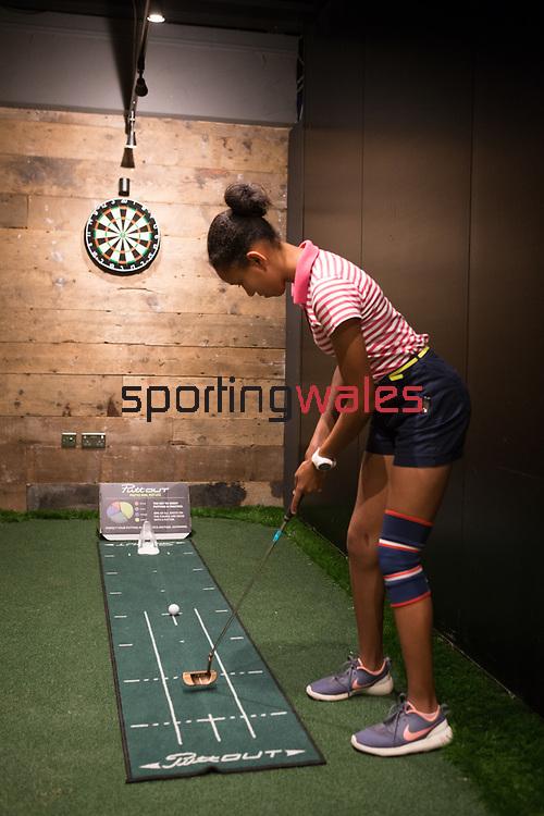 Wales Golf<br /> Girls Golf Day<br /> Bryn Meadows Golf Club<br /> 04.08.18<br /> &copy;Steve Pope<br /> Sportingwales