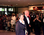 United States Senator John H. Glenn (Democrat of Ohio ) and his wife, Annie, arrive at the White House Correspondents Dinner in Washington, D.C. on April 25, 1998..Credit: Ron Sachs / CNP