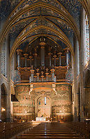Europe/France/Midi-Pyrénées/81/Tarn/ Albi: La Cathédrale Ste-Cécile - Le jugement dernier et l'orgue