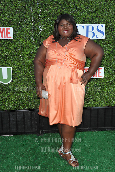 "Gabourey Sidibe - star of ""The Big C"" - at CBS TV Summer Press Tour Party in Beverly Hills. .July 28, 2010  Los Angeles, CA.Picture: Paul Smith / Featureflash"