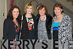 Pictured at the Bons Foundation Dinner on Thursday last in Ballyroe Heights Hotel were l-r:  Mairead O'Sullivan (Ballyferriter) Caroline Quirke  (Abbeyfeale) Geraldine O'Brien (Farmersbridge) and Anne Moynihan (Tralee).