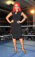 London - Jodie Marsh in association with Loaded Magazine launch 'Queen of the Ring' a night of 'glamour girl wrestling' at Bloomsbury Ballroom, London -  September 13th 2012..Photo by Ross Stratton