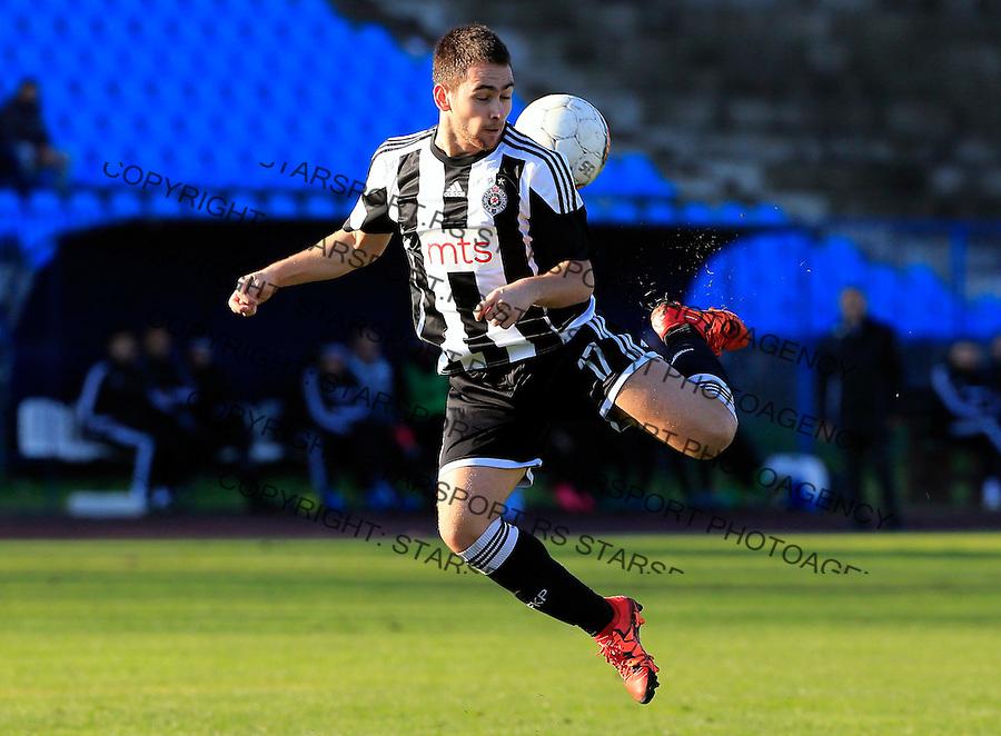 Fudbal Jelen Super League season 2015-2016<br /> Spartak v Partizan<br /> Andrija Zivkovic<br /> Subotica, 29.11.2015.<br /> foto: Srdjan Stevanovic/Starsportphoto&copy;