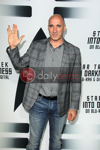 """Neville Page<br /> at the """"Star Trek Into Darkness"""" Blu-Ray and DVD Release Party, California Science Center, Los Angeles, CA 09-10-13<br /> David Edwards/Dailyceleb.com 818-249-4998"""