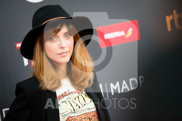 "Leticia Dolera attends to the presentation of the ""Premios Platino"" at Palacio de Cristal in Madrid. April 07, 2017. (ALTERPHOTOS/Borja B.Hojas)"