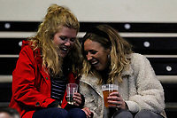 Fans enjoying themselves during the Championship Cup match between London Scottish Football Club and Yorkshire Carnegie at Richmond Athletic Ground, Richmond, United Kingdom on 4 October 2019. Photo by Carlton Myrie / PRiME Media Images
