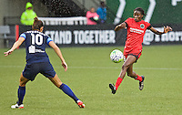 Portland, OR - Saturday July 09, 2016: Shade Pratt during a regular season National Women's Soccer League (NWSL) match between the Portland Thorns FC and FC Kansas City at Providence Park.