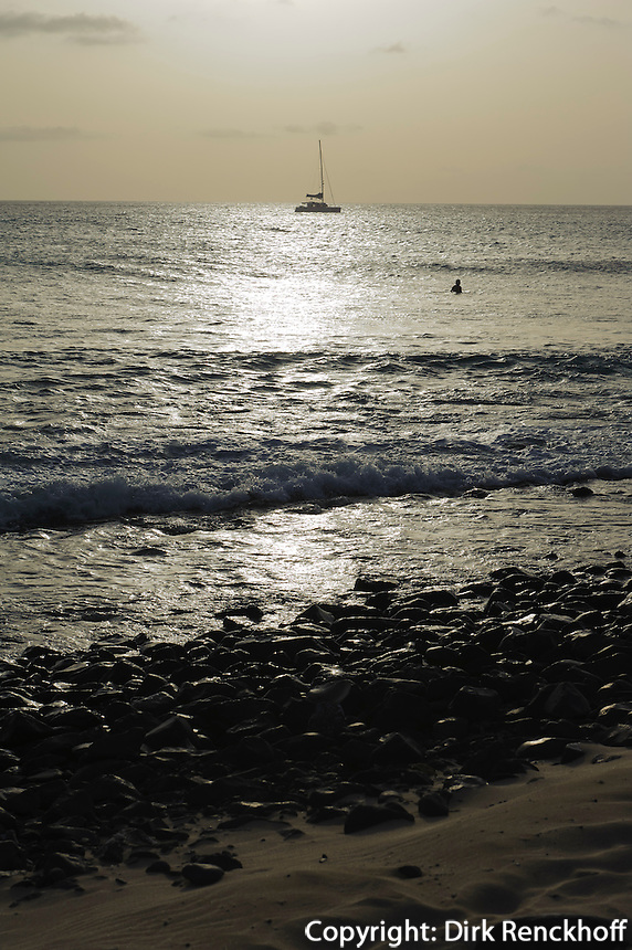 Strand von Punta Preta, Sal, Kapverden, Afrika