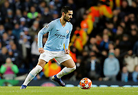 Manchester City's Ilkay Gundogan<br /> <br /> Photographer Rich Linley/CameraSport<br /> <br /> UEFA Champions League Round of 16 Second Leg - Manchester City v FC Schalke 04 - Tuesday 12th March 2019 - The Etihad - Manchester<br />  <br /> World Copyright © 2018 CameraSport. All rights reserved. 43 Linden Ave. Countesthorpe. Leicester. England. LE8 5PG - Tel: +44 (0) 116 277 4147 - admin@camerasport.com - www.camerasport.com