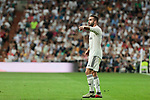 Real Madrid's Dani Carvajal during La Liga match between Real Madrid and Atletico de Madrid at Santiago Bernabeu Stadium in Madrid, Spain. September 29, 2018. (ALTERPHOTOS/A. Perez Meca)