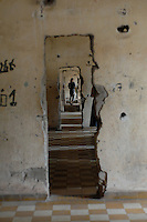 S-21 or Tuol Sleng prison in Pnom Phen in Cambodia. The Cambodian Genecide of 1975 - 1979 where over 1.7 million were executed outside Phnom Penh, Cambodia, 30 October 2007.  Kaing Guek Eav know as duch the commander of the torture house known as S-21 or Tuol Sleng prison was put on trial yesterday 21 Nov 2007 after 28 years.
