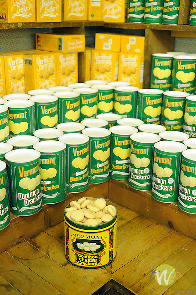Vermont Country Store. Common cracker display.