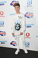 HRVY in the press room for the Capital Summertime Ball 2018 at Wembley Arena, London, UK. <br /> 09 June  2018<br /> Picture: Steve Vas/Featureflash/SilverHub 0208 004 5359 sales@silverhubmedia.com
