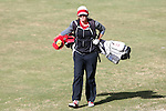 16 April 2016: Louisville's Louise Oxner. The Second Round of the Atlantic Coast Conference's Womens Golf Tournament was held at Sedgefield Country Club in Greensboro, North Carolina.