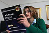 Sixth form student studying physics A Levels UK