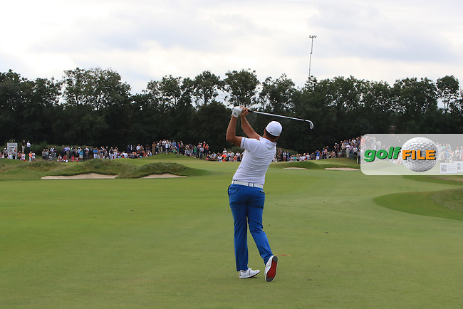 Richard Bland (ENG) on the 6th fairway during Round 4 of the 2016 KLM Open at the Dutch Golf Club at Spijk in The Netherlands on  Sunday 11/09/16.<br /> Picture: Thos Caffrey | Golffile