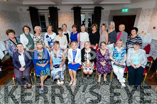 The Ballybeggan Golf Society President prize giving at the Meadowlands Hotel, Tralee on Saturday night.