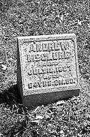 Bellbrook Pioneer Cemetery Andrew: Born 1773, Died 1837