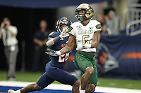 SAN ANTONIO, TX - OCTOBER 12, 2019: The University of Alabama at Birmingham Blazers defeat the University of Texas at San Antonio Roadrunners 33-14 at the Alamodome. (Photo by Jeff Huehn)