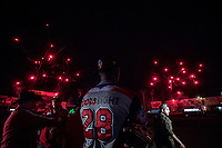 Águilas Cibaeñas de Republica Dominicana, gana su pase a la final de la Serie del Caribe al ganar a  Alazanes de Gamma de Cuba, durante la Serie del Caribe en estadio Panamericano en Guadalajara, México, Miércoles 7 feb 2018.  (Foto: /Luis Gutierrez)