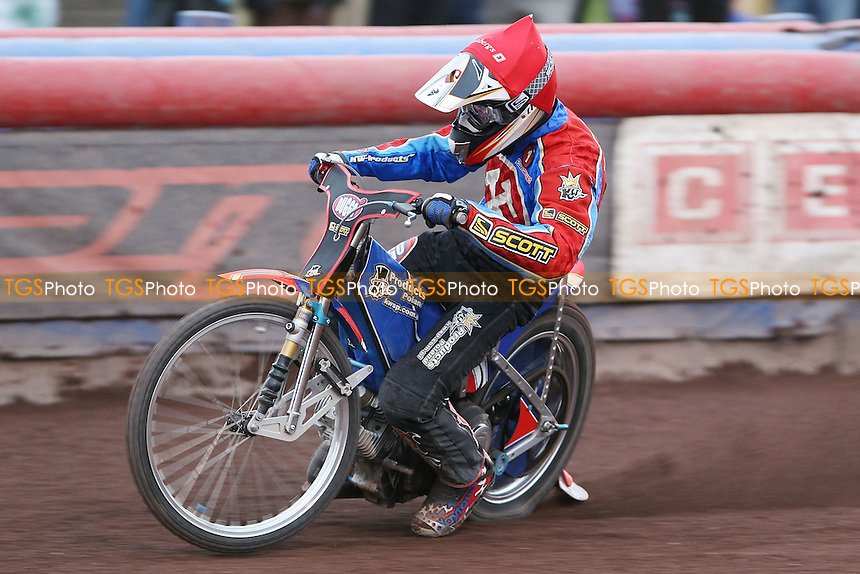 Andreas Jonsson of Lakeside - Lakeside Hammers vs Belle Vue Aces at The Arena Essex Raceway, Lakeside - 04/07/08 - MANDATORY CREDIT: Rob Newell/TGSPHOTO