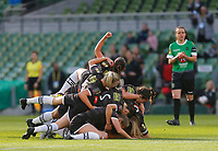 3rd November 2019; Aviva Stadium, Dublin, Leinster, Ireland; FAI Cup Womens Final Football, Peamount United versus Wexford Youth Womens Football Club; Lauren Kelly of Wexford Youths celebrates scoring the opening goal with her team mats - Editorial Use
