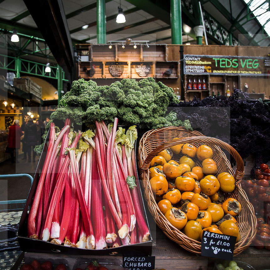 Frutta e verdura al Borough Market.<br /> <br /> Fruits and vegetables at the Borough Market.